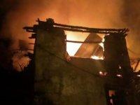 Ermenek'te 6 evde yangın