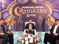 Pursaklar'da Ramazan Programının Konuğu Başkan Ertuğrul Çetin