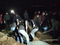 Murat Nehri'nde akıntıya kapılıp hayatını kaybeden İpek toprağa verildi
