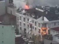 Ataşehir'de iftar vakti yangın çıktı; 1 yaralı