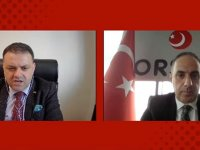 Başkan Levent Çamur, Ankaralı sanayicilerin pandemi sürecini anlattı