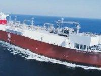 Türkiye'nin ilk yüzer LNG depolama ve gazlaştırma gemisi Ertuğrul Gazi Türkiye'ye ulaştı