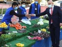 Başkan Altınok'tan semt pazarlarına ramazan denetimi