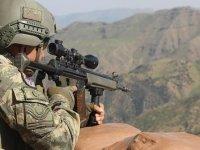 Barış Pınarı bölgesine taciz atışı yapan 4 terörist etkisiz hale getirildi