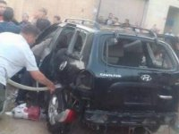 Afrin'de PKK/YPG'li teröristlerin bombalı saldırısında 5 çocuk yaralandı