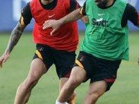 Galatasaray'da Onyekuru takımla çalıştı