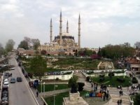 Selimiye Camii meydanında Cumhurbaşkanı'nın talimatıyla süreç hız kazandı