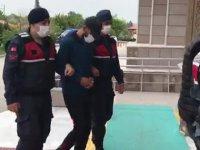 Konya'da, 5 ton mazgal hırsızlığının 2 şüphelisi adliyede