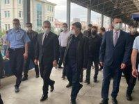Vali Vasip Şahin, Kaymakam Mehmet Yıldız ve Belediye Başkanı Ertuğrul Çetin'den Pazar Denetimi