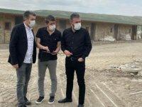Pursaklar'a Modern Veterinerlik Hizmet Binası yapım çalışmaları devam ediyor