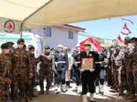 Şehit özel harekat polisi Veli Kabalay'ın naaşı Denizli'de toprağa verildi