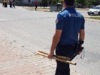 Kayseri'de sopalı, silahlı kavga