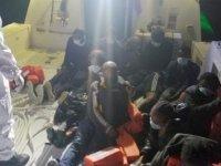 Marmaris'te 11 kaçak göçmen kurtarıldı