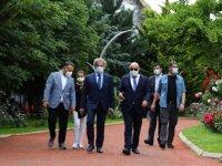 Başkan Altınok Demircan'ı Keçiören'de misafir etti