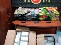 Adana'da tarihi eser ve kaçak tütün operasyonu: 10 gözaltı