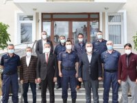 Başkanı Demirbaş'tan Jandarma ziyareti