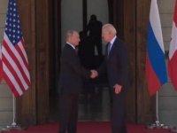 Cenevre'deki kritik Biden-Putin görüşmesi başladı