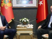 Cumhurbaşkanı Erdoğan, Karadağ Cumhurbaşkanı Cukanoviç'le görüştü