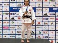 Denizlili judocu Reyhan Oğuz Avrupa 3'üncüsü