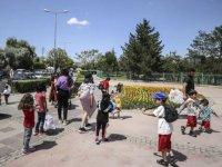 Başkentte bayramın üçüncü günü park ve piknik alanları doldu