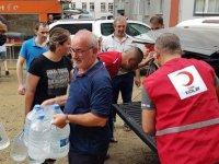 Kızılay'ın Artvin'deki selzedelere yardımları sürüyor