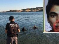 Baraj gölüne giren Mustafa boğuldu