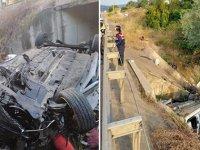 Kamyonet su kanalına devrildi: 3 ölü, 2 yaralı