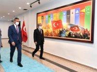 Rektör Ünüvar'dan Başkan Köse'ye Ziyaret