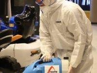 Teknolojik ürünlerle dezenfeksiyon çalışması