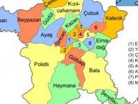 Ankara İlçe Nüfusları
