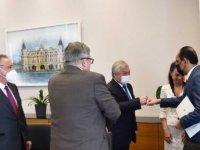 Sözcü Kalın, Rusya Suriye Özel Temsilcisi Lavrentiyev ile görüştü