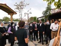 Endemik Vadi'de gençlerle buluştular