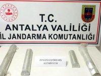 Antalya'da zenginleştirilmiş saf alüminyum ele geçirildi
