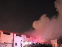 Denizli'de geri dönüşüm fabrikasında çıkan yangın söndürüldü