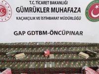 Öncüpınar Sınır Kapısı'nda 31 bin 950 mermi ele geçirildi