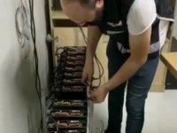 İstanbul'da kripto para madenciliği operasyonu