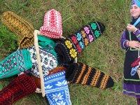 Koyun yünü ipliğinden el dokuması 'Hemşin Çorabı' tescillendi