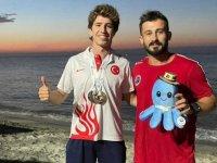 Milli sporcu Derin Toparlak'tan bu kez dünya üçüncülüğü