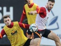 Galatasaray, Konyaspor maçının hazırlıklarını sürdürdü