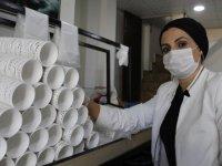 Devlet desteğiyle bardak üreten kadın girişimcinin hedefi fabrika kurmak