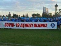 """Adana Demirsporlu futbolculardan """"aşı olun"""" çağrısı"""