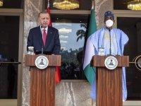 Cumhurbaşkanı Erdoğan: Nijerya'yla askeri savunma ve güvenlik konularında iş birliğimizi güçlendiriyoruz