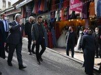 Başkan Yavaş'tan Çıkrıkçılar Esnafına Ziyaret