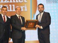 AKK Başkanı Yılmaz'a Avrasya Hizmet Ödülü