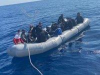 Marmaris'te 109 kaçak göçmen kurtarıldı