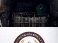 Denizli'de 8 bin 840 litre kaçak akaryakıt ele geçirildi