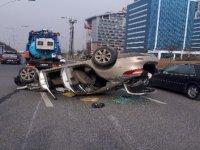 Çankaya'da FECİ kaza