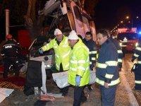 Bir otobüs kazası da Eskişehir'de: 11 ölü