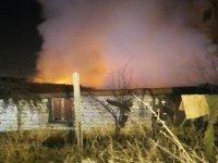 Ankara Öveçler'de gecekonduda yangın
