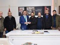 Zonguldaklı madencilere Kızılcahamam Belediyesi'nden kapalıca hediyesi